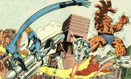 Los cuatro fantasticos comic 1