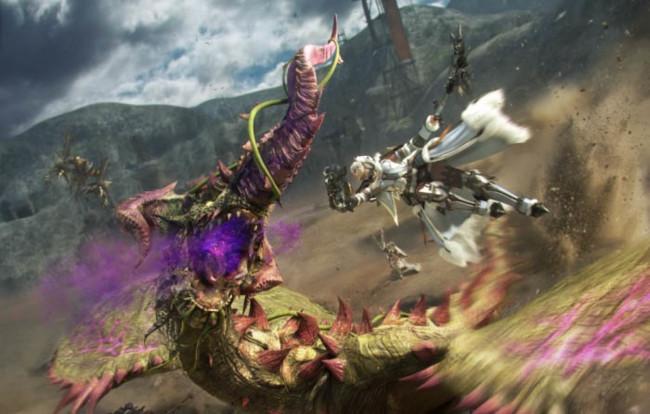 Monster Hunter se estrena en las PS4 japonesas con Monster Hunter Frontier Z