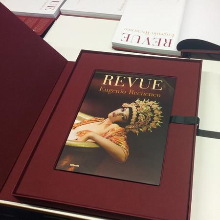 Eugenio Recuenco presenta Revue, una retrospectiva de toda su obra en formato libro de coleccionista