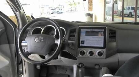 iPad en el coche