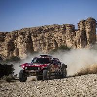 Stéphane Peterhansel gana la penúltima etapa del Dakar por diez segundos y Carlos Sainz ya roza la gloria