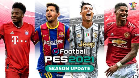 El balón comenzará a rodar a partir de hoy en los campos de PES 2021 Season Update y lo celebra con un nuevo tráiler