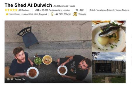 El restaurante nº 1 de Tripadvisor que nunca existió: cómo un periodista troleó a todo Londres