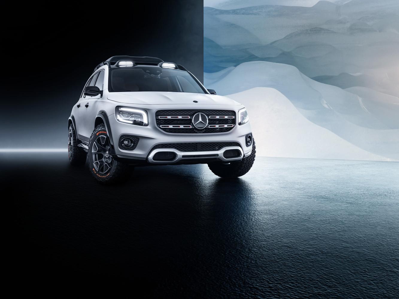 Foto de Mercedes-Benz GLB Concept (3/26)