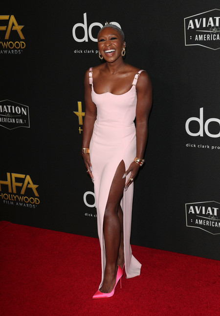 Cynthia Erivo hollywood film awards 2019