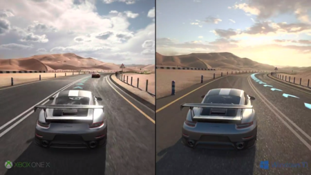 Forza Motorsport 7: así luce su sistema de 4K HDR  en Xbox One X y PC