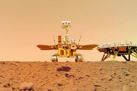 El rover Zhurong envía vídeos y sonidos desde Marte y gana la partida a Perseverance en una cosa: su cámara remota para selfis