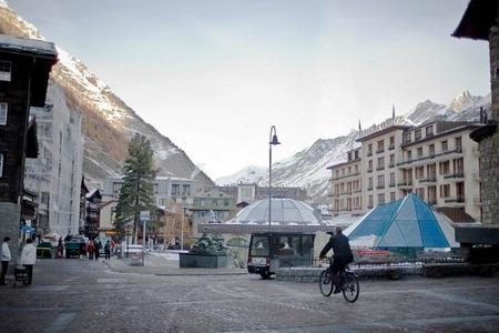 ¿Un mundo sin autobuses de combustión? En Suiza un pueblo ya lo ha conseguido