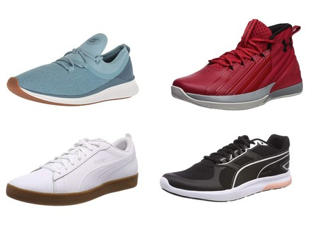 Chollos en tallas sueltas de zapatillas Puma, New Balance o Under Armour en Amazon