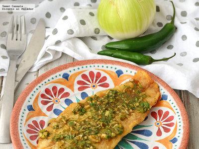 Filete de pescado Rodrigo. Receta