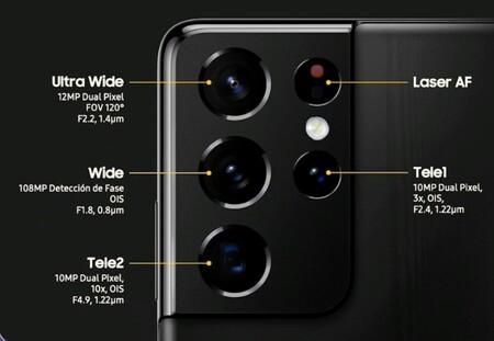 Samsung Galaxy S21 Ultra Oficial Camaras