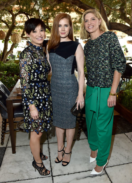 Sandra Choi Amy Adams Petra Flannery Hollywood Reporter