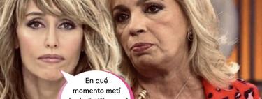Emma García pierde los nervios con Carmen Borrego y la deja de piedra con este impactante comentario