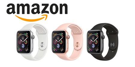 El Apple Watch Series 4 en acero y con LTE, está en oferta en Amazon: varios modelos entre los que elegir para regalar estas navidades con algo de ahorro