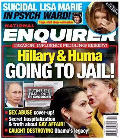 Hillary para la trena