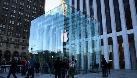 La Apple Store de la quinta avenida ingresa 440 millones de dólares en un año