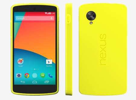 Bumper Case y Quickcover, las fundas oficiales de Google para el Nexus 5
