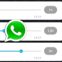 Ya puedes acelerar los audios de WhatsApp: así funciona en las notas de voz de WhatsApp Web