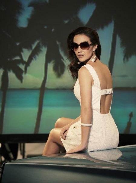 Paula Echevarría para Blanco Primavera-Verano 2012: como una estrella de Hollywood
