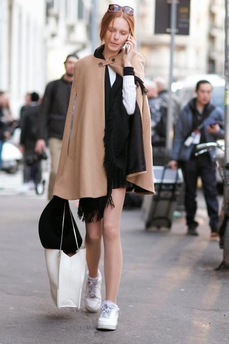 abrigos capa street style