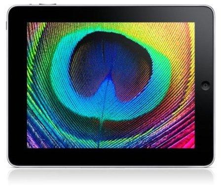 iPad pantalla