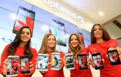 LG Optimus y sus cuatro familias de teléfonos Android