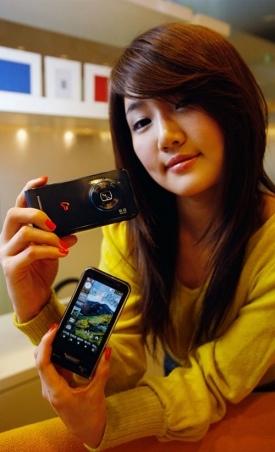 Samsung Haptic 8M, teléfono con etiquetado de rostros