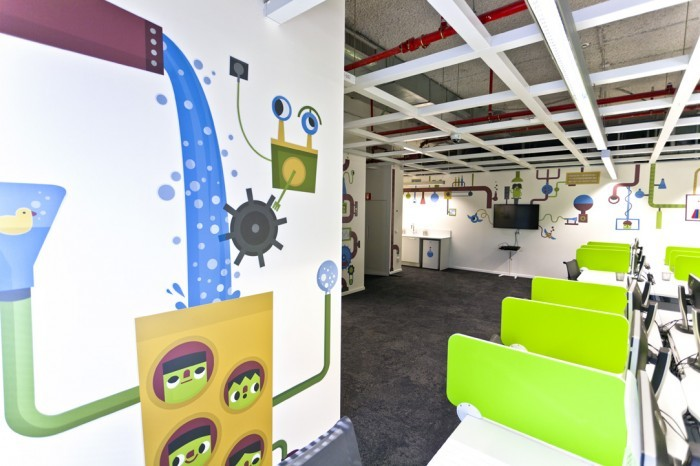 Las oficinas de eBay en Israel