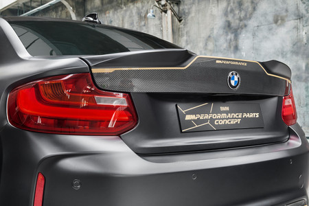 BMW M Performance Parts Concept trasera