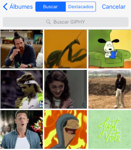 Cómo enviar GIFs por WhatsApp desde un iPhone