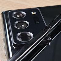 El Samsung Galaxy Note 20 Ultra se filtra en fotos, mostrando su pantalla con bordes curvados
