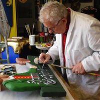 La profesión de rotulista artesanal en auge