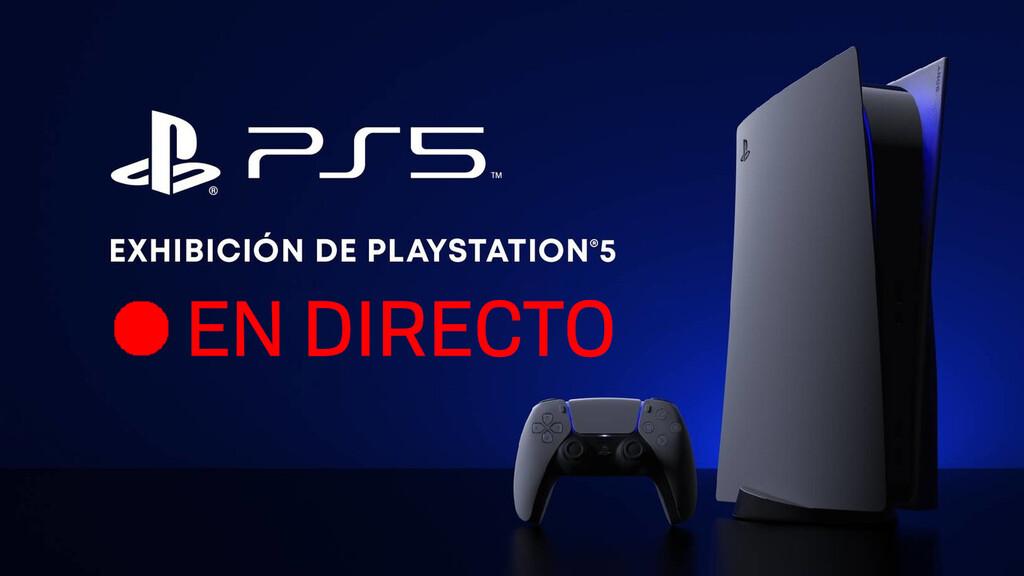 PlayStation 5: sigue la presentación en directo y en vídeo con nosotros