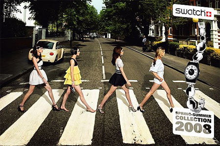 Swatch se inspira en los Beatles
