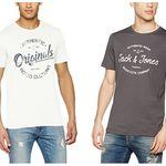 Camisetas de manga corta Jack & Jones Jortraffic por 9,99€ en Amazon. Casi todas las tallas disponibles