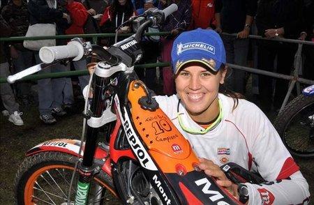 Laia Sanz, Campeona del Mundo de Trial. ¡Y van diez!