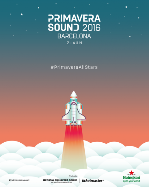 Ya lo tenemos aquí: el cartel de Primavera Sound 2016