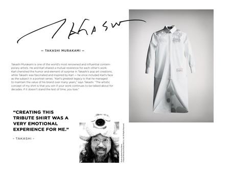 Siete Artistas Reinventaran La Iconica Y Elegante Camisa Blanca En Honor A Karl Lagerfeld 02