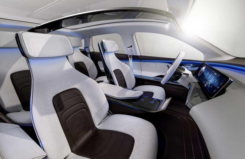 Foto de Mercedes EQ interior (9/9)