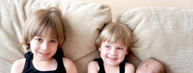 Cuando el tercer hijo nace, el segundo (también) crece de golpe