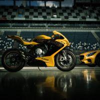 Buenos días, quiero un Mercedes-AMG GT y de paso póngame una MV Agusta F3