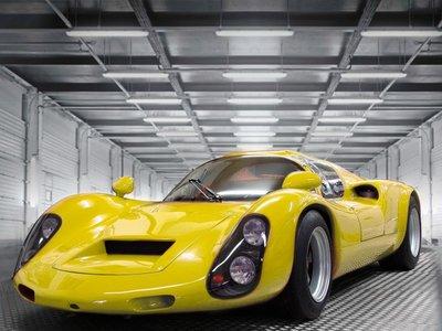 Este EVEX Porsche 910e no es un Porsche 910 de carreras, sino un moderno deportivo eléctrico