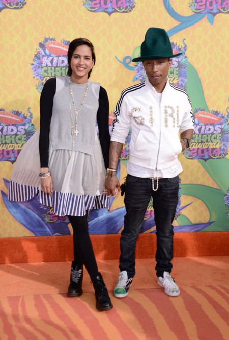 Pharrell Williams Kids Choice Awards 2014 peor vestidas