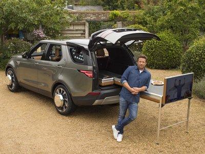 Jamie Oliver ya tiene un Land Rover Discovery con llantas que baten mantequilla