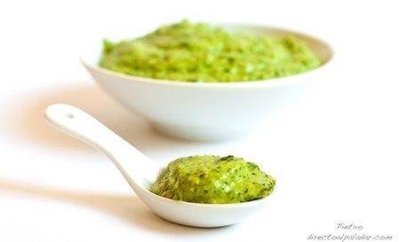 Receta de pesto de jengibre y cilantro