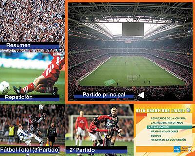 Multipantalla Fútbol