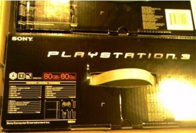 Playstation 3 de 80 GB casi confirmada