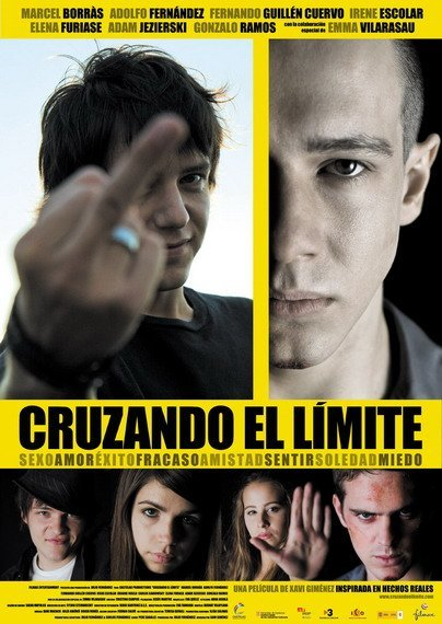 'Cruzando el límite' de Xavi Giménez, carteles