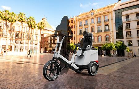 El primer pick-up de BMW tiene alma de bicicleta, un motor eléctrico, plataforma modular y tres ruedas