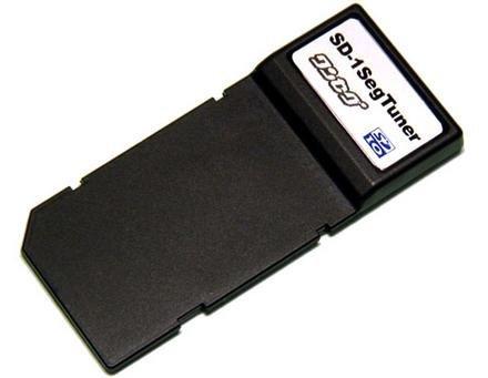 Sintonizadora de TV en una tarjeta SD